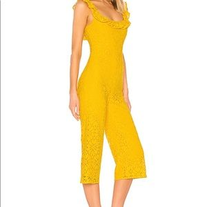 Lovers and Friends Yellow Jumpsuit